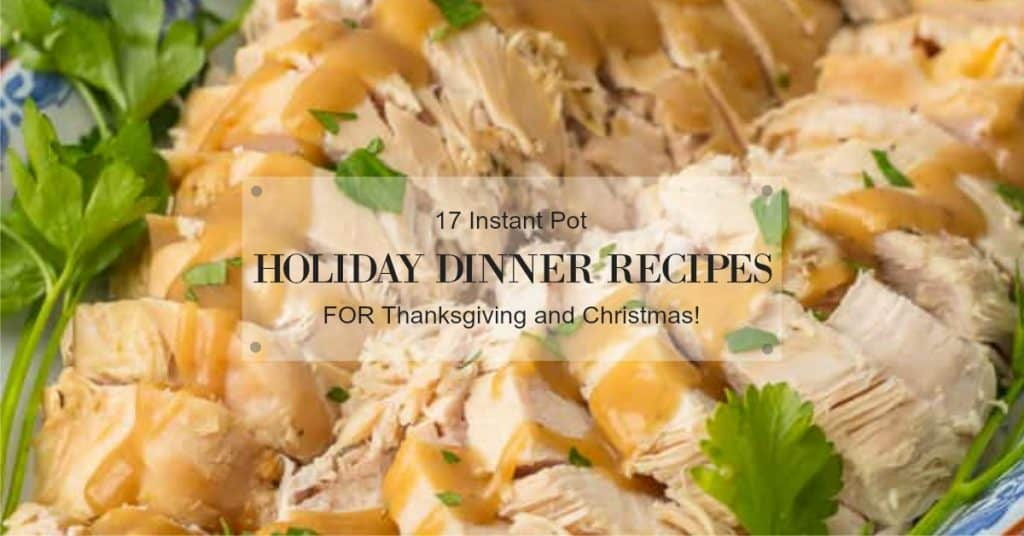 instant pot holiday recipes
