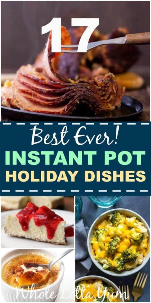 17 instant pot holiday dinner recipes