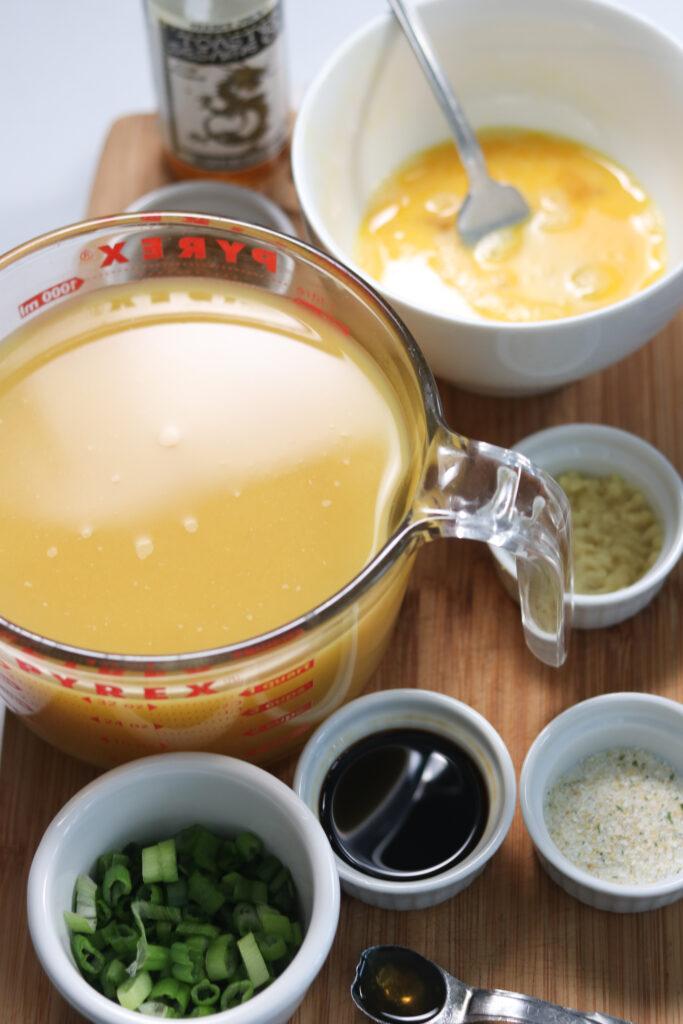 instant pot egg drop soup recipe