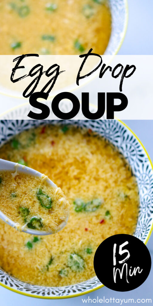 low carb egg drop soup