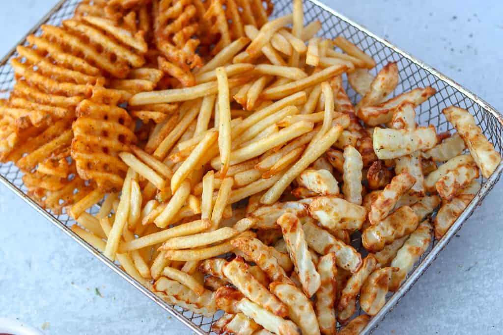 air fried frozen french fries