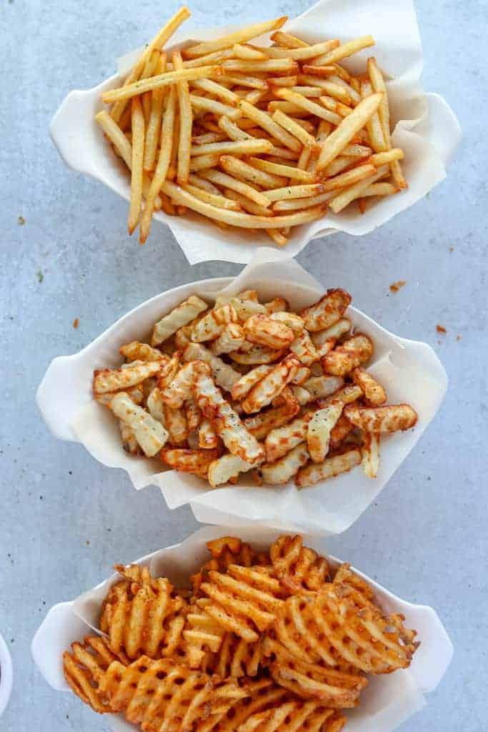 cooking frozen fries in air fryer