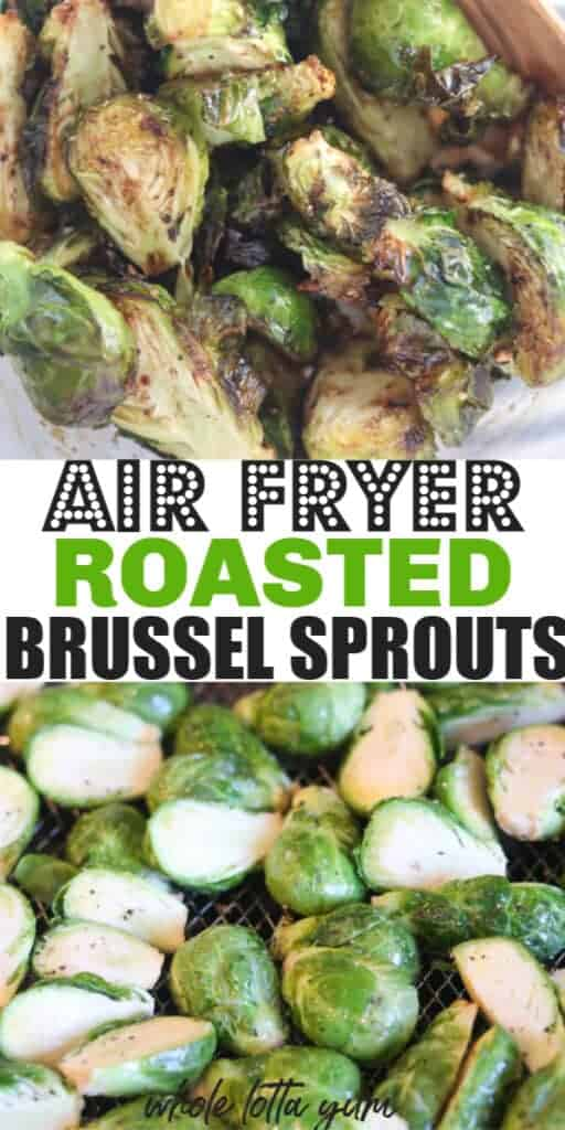 brussels sprouts in air fryer
