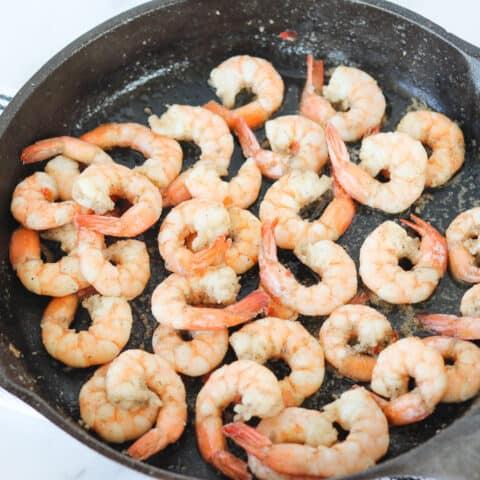 low carb shrimp
