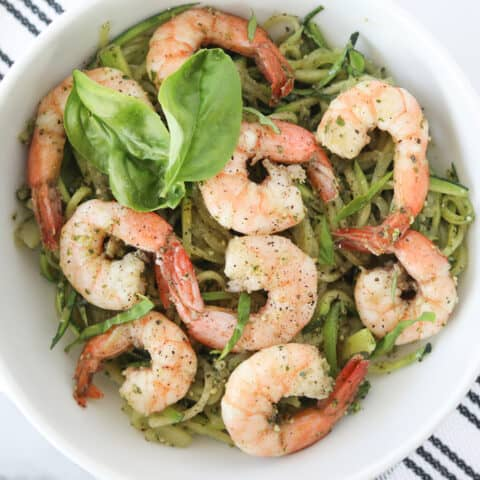 shrimp and zucchini