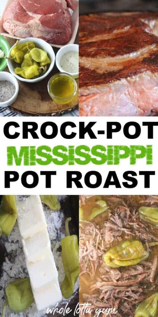 mississippi pot roast in crock pot
