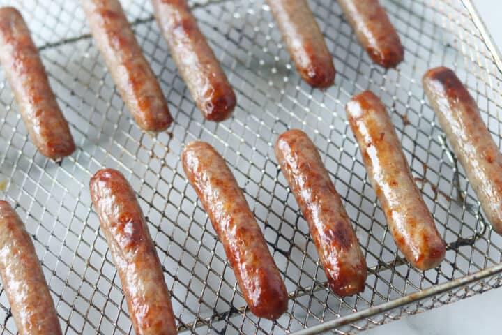 breakfast sausage links in air fryer